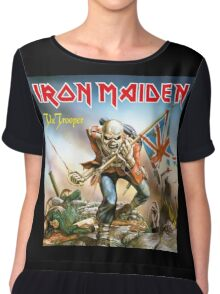Iron Maiden The Trooper Chiffon Top