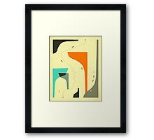 DOWN TO THE WIRE Framed Print