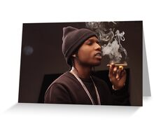 asap rocky Greeting Card