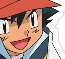 Ash Ketchum - Make America Great Again Sticker