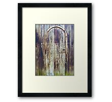 Door Framed Print