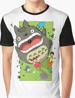 My Neighbor Totoro Funny Graphic T-Shirt
