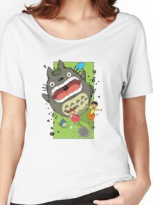 My Neighbor Totoro Funny Women's Relaxed Fit T-Shirt