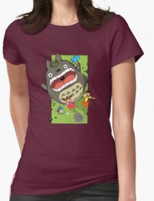 My Neighbor Totoro Funny Womens Fitted T-Shirt