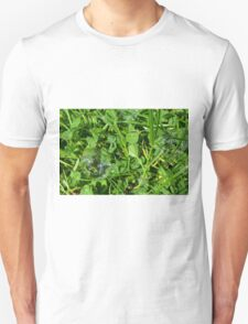 Soap bubbles in the grass. T-Shirt