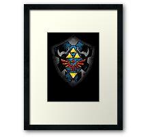 Hero´s Shield Framed Print