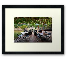 Feathertop Winery Framed Print