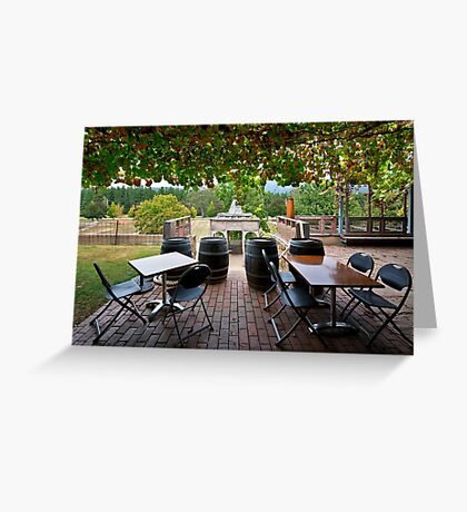 Feathertop Winery Greeting Card