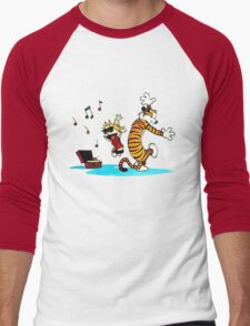 Calvin and Hobbes Dance Men's Baseball ¾ T-Shirt