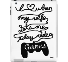 What Gamers Love iPad Case/Skin