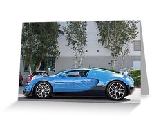 Transformers Veyron Greeting Card
