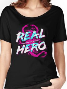 Real Hero Women's Relaxed Fit T-Shirt
