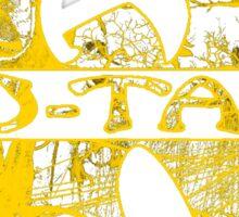 Wu-Tang Gold 2 Sticker