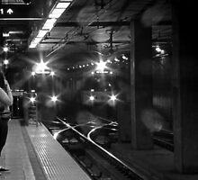 Los Angeles Metro Rail by CarolM