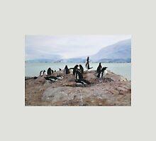 Gentoo Penguin Rookery on Trinity Island, Antarctica Unisex T-Shirt