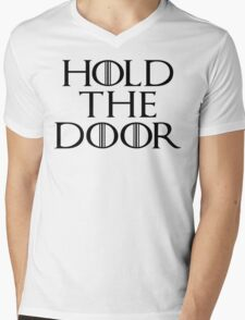 Hold The Door - Game Of Thrones Season 6 Mens V-Neck T-Shirt