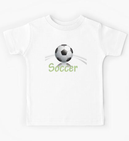 Soccer ball graphics Kids Tee