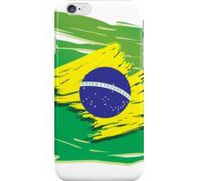 Brazil flag stylized iPhone Case/Skin