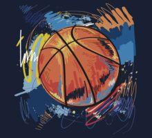 Basketball graffiti art Baby Tee