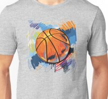 Basketball graffiti art Unisex T-Shirt
