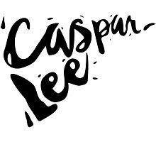 Caspar Lee Pizza Photographic Print