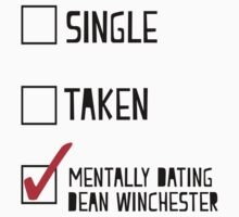 Mentally Dating Dean Winchester One Piece - Short Sleeve