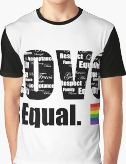 Love is equal Graphic T-Shirt