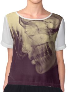 X-Ray Girl Chiffon Top