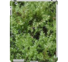 Moss on a small scale iPad Case/Skin