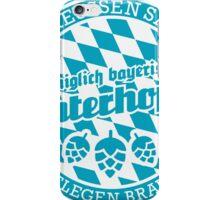 Königlich bayerisch unterhopft iPhone Case/Skin