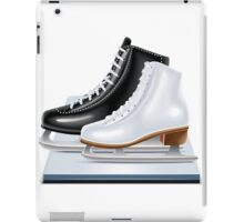 Ice hockey shoes icons iPad Case/Skin
