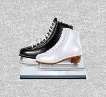 Ice hockey shoes icons Unisex T-Shirt