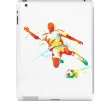 Colored football sport art iPad Case/Skin