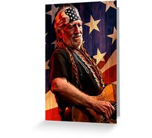 WILLIE NELSON 5 Greeting Card