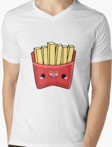 kawaii chips Mens V-Neck T-Shirt