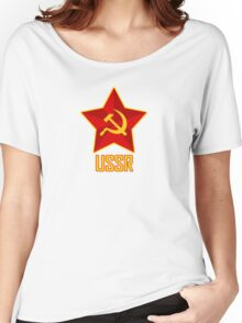 USSR Women's Relaxed Fit T-Shirt