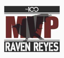 Raven Reyes MVP (The 100) One Piece - Short Sleeve