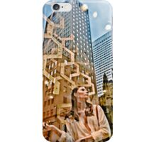 Winter Snow, Maiden of NYC iPhone Case/Skin