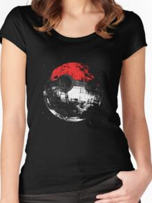 PokeStar Women's Fitted Scoop T-Shirt