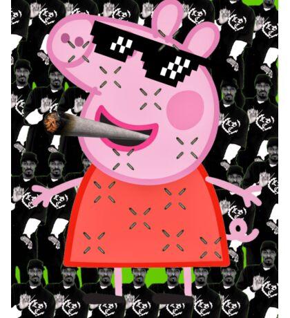 MLG Peppa Pig/Snoopy Dogg Sticker