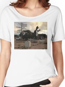 Border Village, Western Australia 2005 Women's Relaxed Fit T-Shirt