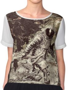 Spaceman Chiffon Top