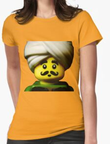 The Indian Snake Charmer Womens Fitted T-Shirt