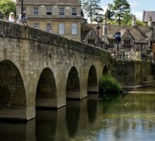 The Town Bridge, Bradford on Avon, Wiltshire, United Kingdom. Sticker
