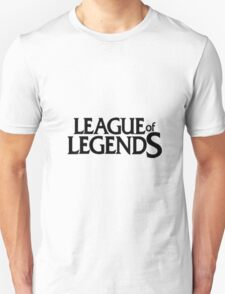 credits of league game T-Shirt