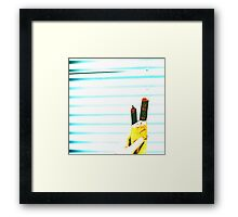 Street Food Feast Framed Print