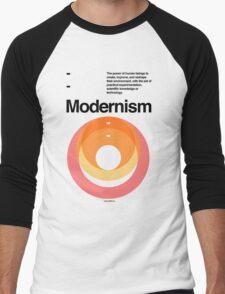 Modernism Men's Baseball ¾ T-Shirt