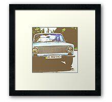 Cuban Car Framed Print