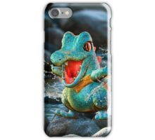 Realistic Pokemon: Totodile iPhone Case/Skin