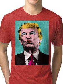 Trump Warhol Tri-blend T-Shirt